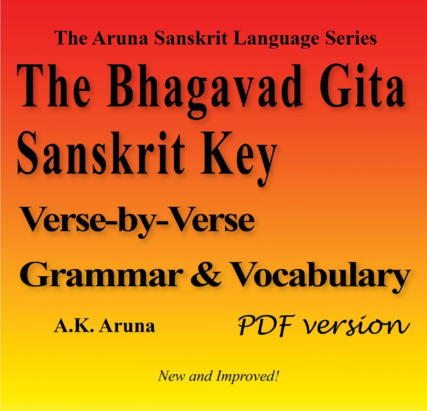 The Bhagavad Gita Sanskrit Key Pdf Ebook Ebook Pothicom