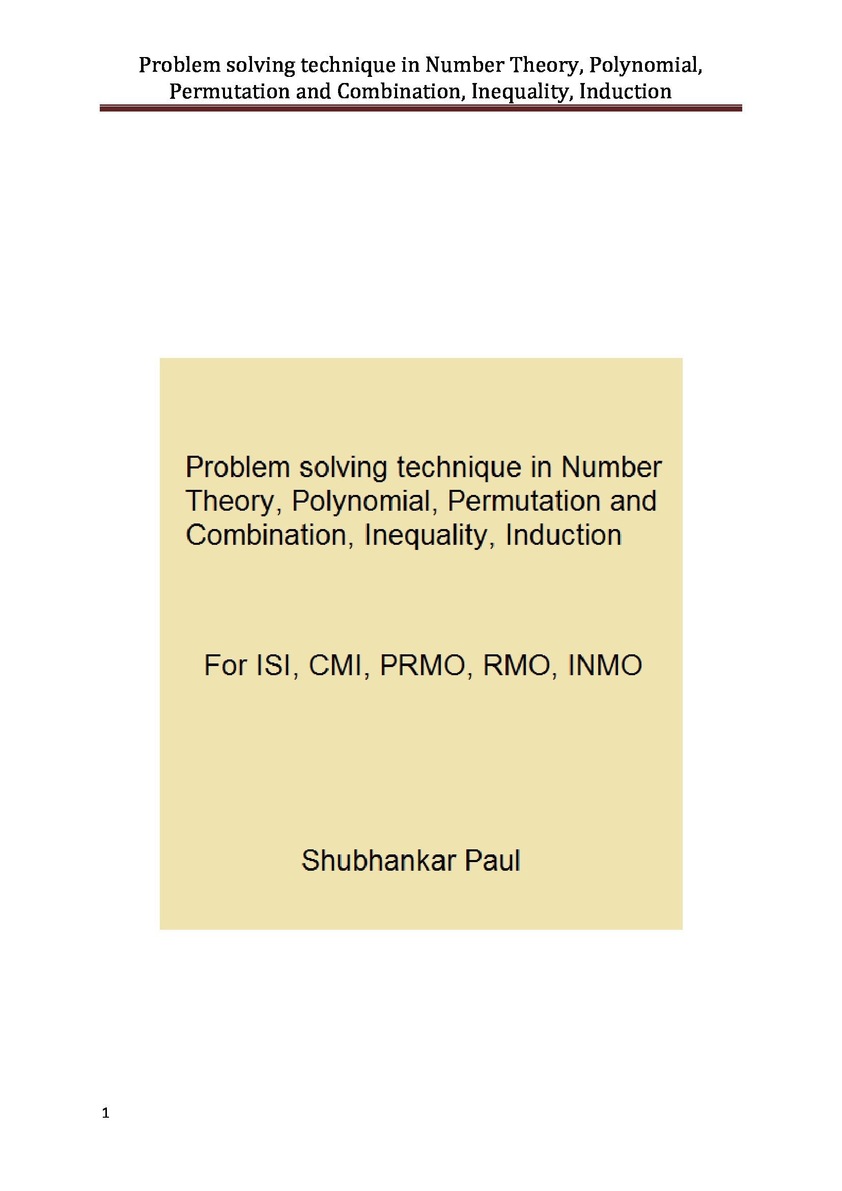 Permutations And Combinations Ebook