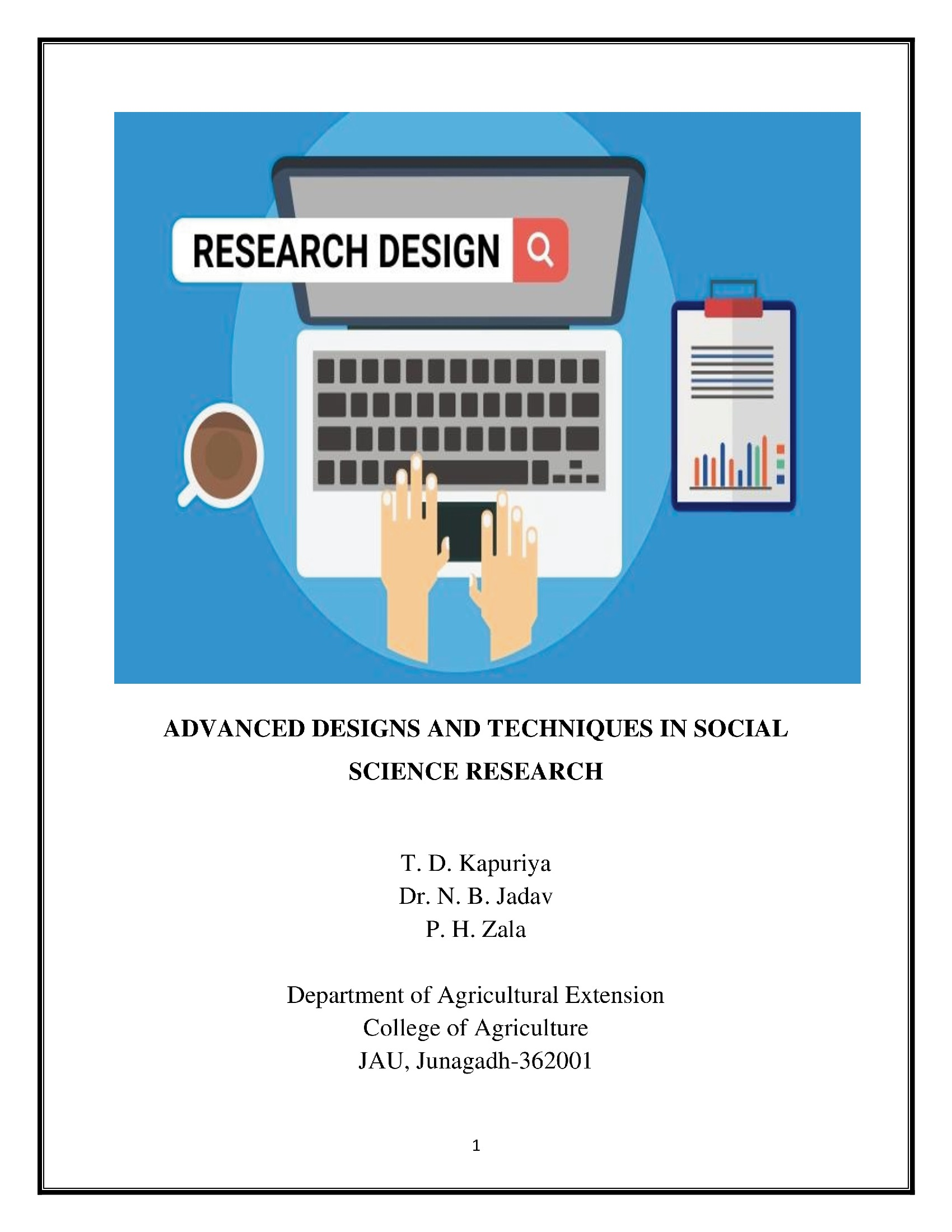 Advanced Designs And Techniques In Social Science Research Pothi Com